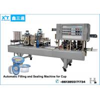 Buy cheap Automatic Carbon Steel Drinking Water Cup Filling Machine Cup Soda Water Produce LIne from wholesalers