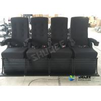 Buy cheap Playground Center 4D Movie Theater Motion Chair Bubble / Fire / Smoke Effects product