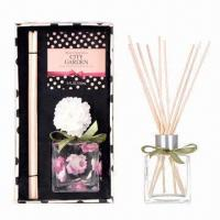 Buy cheap Rattan Reeds Aroma Diffuser with Sola Flower Home Scent Gift Set from wholesalers
