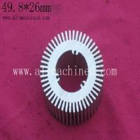 Buy cheap Item 248,Customized 49.8mm round extruded aluminum profile heatsink, cooler for led lights from wholesalers