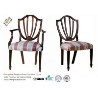 Buy cheap Antique Style Soft Velvet Fabric Hotel Dining Chairs for Modern Restaurant from wholesalers