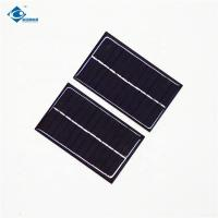 Buy cheap 5V 0.6W transparent thin film solar panel for MP3 ZW-9055 Poly solar panel for solar car battery charger from wholesalers