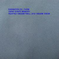 Buy cheap F4208 100%polyester shape memory fabric 75DX75D  for jacket from wholesalers