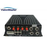 Buy cheap Black 4 CH IP Camera GPS Mobile DVR DC 8 - 36V Graphical User Interface With 4G WIFI product
