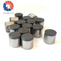 Buy cheap China factory price PDC cutters/tungsten carbide PDC cutters used for oil drilling bits from wholesalers