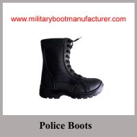 Buy cheap Wholesale China made Water-Resistant Injection Black Jungle  Boot from wholesalers
