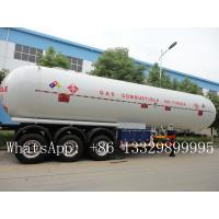 Buy cheap CLW brand 3 axles BPW  LPG Tank Trailer Truck 58.5 m3 for sale, best price CLW brand 58500L propane gas tank semitrailer from wholesalers