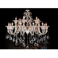 Buy cheap Retro and Traditional Italian Style Large Luxury Crystal Chandelier 2 Layer 18 Light from wholesalers