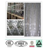 Buy cheap high quality galvanized razor wire fencing/ galvanized razor wire fencing manufacturer from wholesalers