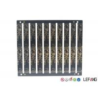 Buy cheap Multilayer PCB Circuit Board 6 Layers 0.8mm Board Thickness With Black Soler from wholesalers