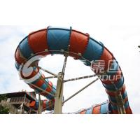 Buy cheap Customized Outside Water Theme Parks Galvanized Carbon Steel For Adult / New Style Water Slide from wholesalers
