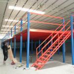 Buy cheap Supermarket Heavy Duty Storage Racks , Free Standing Mezzanine Kits 500 Kg Per Sq Meter from wholesalers