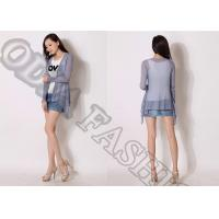 Buy cheap Personality Womens Cardigan Long Sleeve With Sequin yarn from wholesalers