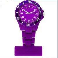 Buy cheap Unisex Style England Nurse Fob Japan Movement Watch / Clip Pin Silicon Nurse Watch from wholesalers