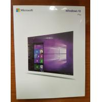 Buy cheap 100% Genuine Microsoft Windows 10 Operating System Windows 10 Pro Retail Box from wholesalers