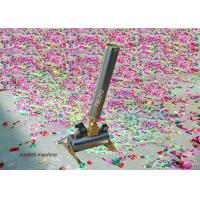 Buy cheap 150w Compressed Air Confetti Cannon Electric Paper Spray Confetti Cannon For Wedding from wholesalers