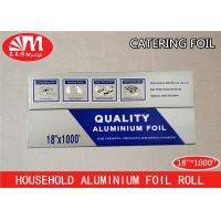 Buy cheap Heavy Duty Catering Tin Foil , Restaurant Aluminum Foil Food Grade Good Packaging from wholesalers