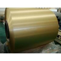 Buy cheap Anti Oxidation Gold Aluminum Heat Transfer Foil For Air Conditioning & Cooling System from Wholesalers