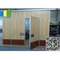 Buy cheap Star Hotel Luxury Movable Partition Walls Fabric Sliding Panel Acoustic Wall from wholesalers