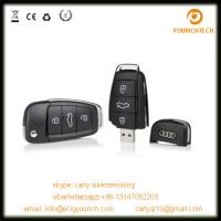 Buy cheap Audi car key usb flash drive, car key shape usb flash drive, usb flash drive key from wholesalers