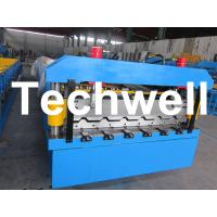 Buy cheap 5.5 Kw Steel Metal Roof Roll Forming Machine With Manual, Automatical Decoiler from wholesalers