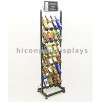 Buy cheap 24 Bottle Wine Display Tower / Retail Shop Metal Wire Whiskey Rack 6 - Layer from wholesalers