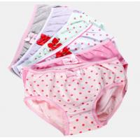 Buy cheap Fashion 100% cotton fabric gril's print breifs from wholesalers