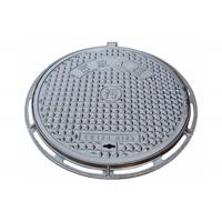 Buy cheap Manhole Cover Parts Ductile Cast Iron Casting QT450-10 Material OEM Custom Castings from wholesalers