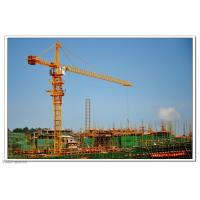 Buy cheap Self Erecting Construction Tower Crane With Steel Structure 4.25 - 80 m/min Hoisting Speed from wholesalers
