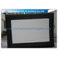 Buy cheap Promotional Advertising Inflatable Movie Screen / Video Screen In Backyard product