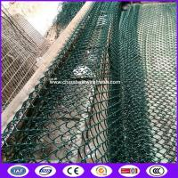 Buy cheap cheap 1 2 1-1/2 2-3/8 3 inch hole 6 foot solid galvanized /pvc coated/black vinyl plastic chain link fence from wholesalers