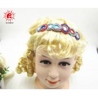 Buy cheap Graceful Handmade Beads Elastic Fabric Headband decoration for fashion from wholesalers