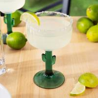 Buy cheap New Design 16oz. Cactus Tree Shape Glass Goblet Margarita Glass For Restaurant & Hotel from wholesalers