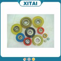 Buy cheap High Quality Factory Supplied Polyurethane Material 80 Shore A to 75 Shore D flat free hand truck pu wheel from wholesalers