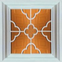 Buy cheap Aluminum Framed Mirror Drop Ceiling Tiles , 3 D Texture Indoor Ceiling from wholesalers
