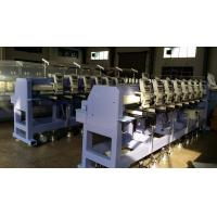 Buy cheap 8'' Monitor Computerized Hat / Cap Embroidery Machine With 8 Head from wholesalers