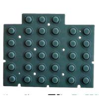 Buy cheap Custom Made Conductive Silicone Rubber Keypad Plus Plastic Surface  Silicone Parts from wholesalers