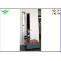 Buy cheap 5000N Single Arm Computer Servo Tensile Strength Testing Machine ISO10319 & ISO12236 from wholesalers