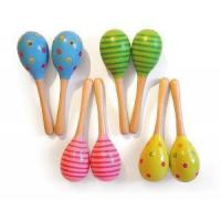 Buy cheap Wooden Maracas, Wooden Musical Toys from wholesalers