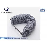 Buy cheap Car Accessories Gray Neck Travel Pillow , Memory Foam Head Pillow With Different Color from wholesalers