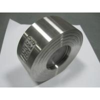 Buy cheap CF8 PN40 SUS304 Single Disc Check Valve Wafer Type For Petroleum Or Vapour from wholesalers