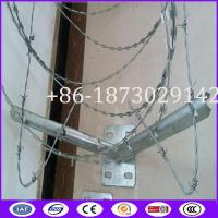 Buy cheap 450mm, 600mm, 900mm, 960mm, 980mm Coil Diameter Fencing Concertina Wire Roll from wholesalers
