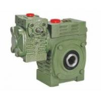 Buy cheap Worm Gear Reducer Mini WPWEK With Motor Gearbox Aluminium / Cast Iron Housing product