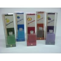 Buy cheap square glass reed diffuser gift set product