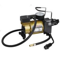 China 120 W Power Auto Air Compressor Electric Tyre Pump Metal With Plastic Material on sale