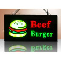 Buy cheap Portable Illuminated LED Resin Signs Flashing Type Sign Board For Advertisement from wholesalers