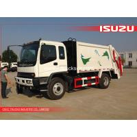 Buy cheap 16 m3 Isuzu domestic garbage compactor from wholesalers