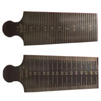 Buy cheap 1mm Thickness Universal Welding Gauge , Taper Measuring Gages Gage 30-45mm product