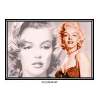 Buy cheap Wall Decor Picture Frame Marylin Monroe Famous Movie Star from wholesalers