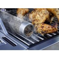 """Buy cheap Pellet 12 / 6"""" Smoking Tube For BBQ , Corrosion Resistant Perforated Metal from wholesalers"""